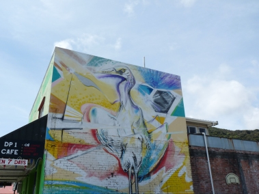 Street art - Greymouth